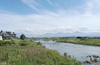 球磨川による水の恩恵